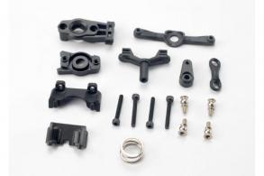 TRAXXAS запчасти Steering arm (upper & lower): steering link: servo horn: servo saver: servo saver spring: servo