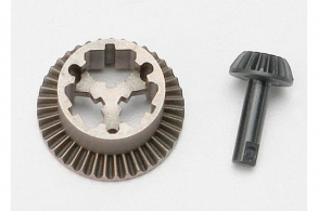 TRAXXAS запчасти Ring gear, differential: pinion gear, differential