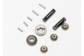 TRAXXAS запчасти Gear set, differential (output gears (2): spider gears (3)): differential output shafts (2): 1.5x6mm