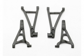 TRAXXAS запчасти Suspension arm set, front (includes upper right & left and lower right & left arms)