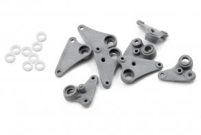 TRAXXAS запчасти Rocker arm set, progressive-2: plastic bushings (8)