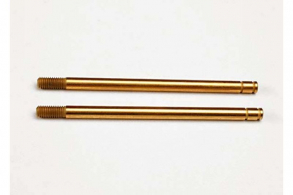 TRAXXAS запчасти Shock shafts, hardened steel, titanium nitride coated (xx-long) (2)