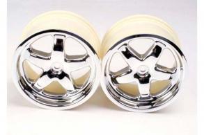 TRAXXAS запчасти Wheels, T-Maxx (chrome) (2)