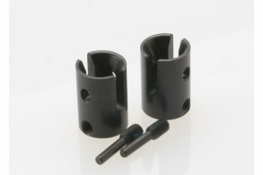 TRAXXAS запчасти Drive cups, inner (2) Revo (steel constant-velocity driveshafts):screw pin, M4:15(2) (for use only w