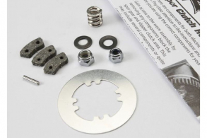 TRAXXAS запчасти Rebuild kit, slipper clutch (steel disc: friction pads (3): spring (2): 2x9.8mm pin: 5x8mm MW: 5.0mm