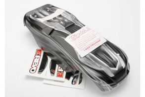 TRAXXAS запчасти Body, 1:16 E-Revo, ProGraphix (replacement for painted body. Graphics are painted- requires paint an