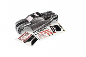 TRAXXAS запчасти Body, E-Maxx Brushless, ProGraphix (replacement for painted body. Graphics are printed, requires pai