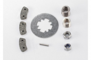 TRAXXAS запчасти Rebuild kit, slipper clutch (steel disc: friction pads (3): spring (2): pin: 4.0mm NL (1): 5.0mm NL