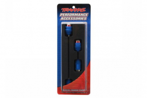 TRAXXAS запчасти Driveshafts, center E-Revo (steel constant-velocity) front (1): rear (1) (assembled with inner and o