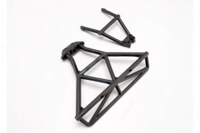TRAXXAS запчасти Bumper, rear: bumper mount, rear (black)