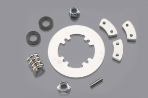 TRAXXAS запчасти Rebuild kit (heavy duty), slipper clutch (steel disc: aluminum friction pads (3): spring, Revo (1):