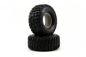TRAXXAS запчасти Tires, Kumho (dual profile 4.3x1.7- 2.2:3.0'') (2): foam inserts (2)