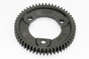 TRAXXAS запчасти Spur gear, 54-tooth (0.8 metric pitch, compatible with 32-pitch) (for center differnential)