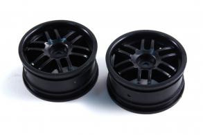 TRAXXAS запчасти Wheels, Rally (black) (2)
