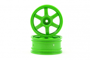 TRAXXAS запчасти Wheels, Volk Racing TE37 (green) (2)