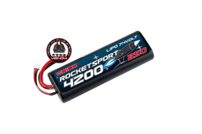 Team Orion Batteries Rocket Spot Li-Po 7,4В(2s) 4200mAh 25C Hard Case Venom Uni Plug