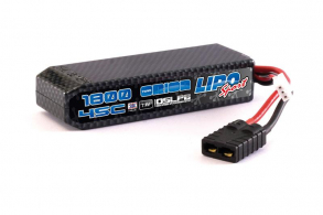 Team Orion Batteries Сarbon Sport Li-Po 7,4В(2s) 1800mAh 45C Hard Case TRX Plug for TRAXXAS