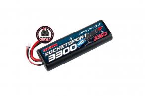 Team Orion Batteries Rocket Sport LiPo 7,4В(2s) 3300mAh 25C Hard Case Venom Uni Plug