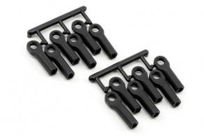 RPM Traxxas Long Rod Ends - Black