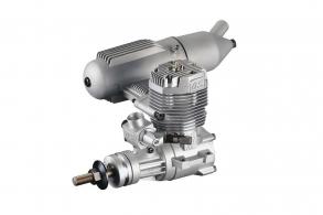 O.S. Engines 65AX ABL w:Muffler