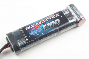 Team Orion Batteries Rocket Pack NiMH 8,4В(7s) 5100mAh Soft Case Traxxas