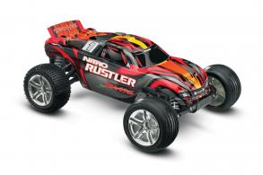 TRAXXAS 1:10 GP 2WD Nitro Rustler TQ RTR