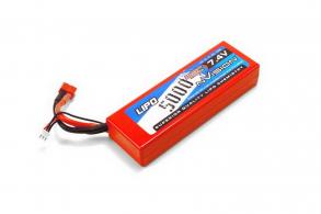 nVision 7.4V 5000mAh 45C LiPo Deans plug  Hard Case