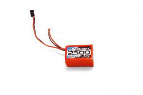 nVision Li-Po 7.4V(2s) 2500mAh  JR Plug Soft Case Hump pack