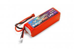 nVision Li-Po 22.2V(6s) 3300mAh 30C Soft Case Deans plug