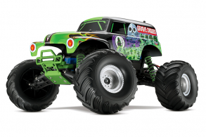 TRAXXAS 1:10 EP 2WD Grave Digger TQ RTR