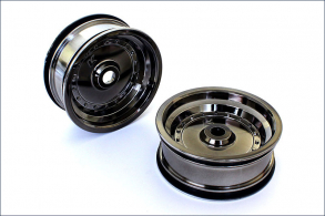 KYOSHO запчасти F-Wheel(Black Chrome:2pcs:Scorpion XXL)