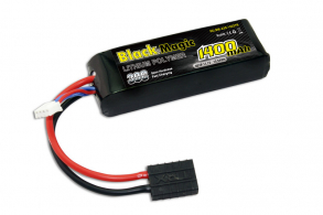 Black Magic LiPo 11,1В(3S) 1400mAh 30C Soft Case Traxxas plug for TRAXXAS
