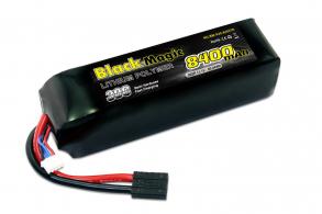 Black Magic LiPo 11,1В(3S) 8400mAh 30C Soft Case Traxxas plug for TRAXXAS