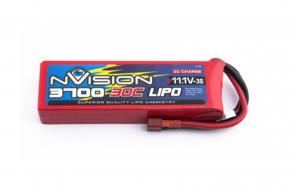 nVision Li-Po 11.1V(3s) 3700mAh 30C Deans