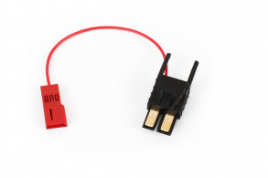 TRAXXAS запчасти Connector, power tap (with cable) (short): wire tie