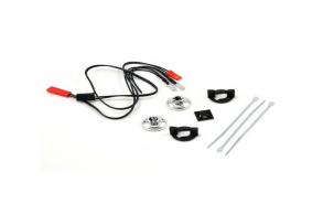 TRAXXAS запчасти LED Lights: harness (2 red lights):LED housing (2) :housing retainer (2):wire clip (1):wire ties (3)