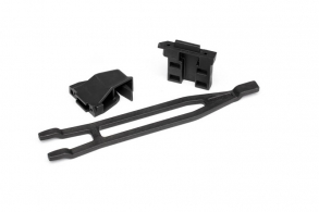 TRAXXAS запчасти Battery hold-down, tall (1): hold-down retainer, front & rear (1 each) (allows for installation