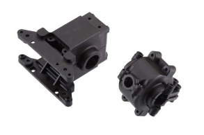 TRAXXAS запчасти Bulkhead, front & rear : differential housing, front & rear