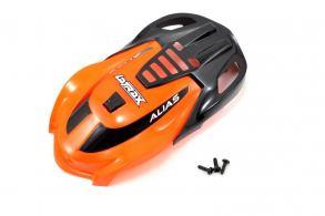 TRAXXAS запчасти Canopy, Alias, orange: 1.6x5mm BCS (self-tapping) (3)