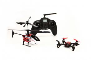 TRAXXAS QR1 Quad-Rotor Helicopter (комплектуется DR-1) RTF