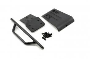 RPM Slash 4x4 Front Bumper & Skid Plate - Black