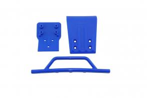 RPM Slash 4x4 Front Bumper & Skid Plate - Blue