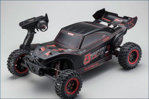 KYOSHO 1:7 EP 2WD Scorpion B-XXL VE RTR (Black)