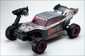 KYOSHO 1:7 GP 2WD Scorpion B-XXL RTR (Black)