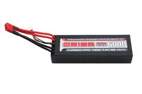Team Orion Batteries Carbon Pro LiPo 7,4В(2s) 6000mAh 100C Hard Case Deans