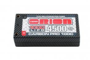 Team Orion Batteries Carbon Pro LiPo 7,4В(2s) 4500mAh 100C Hard Case Tubes