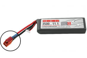 Team Orion Batteries Li-Po 11,1В(3S) 3500mah 50C SoftCase Deans plug with LED charge status