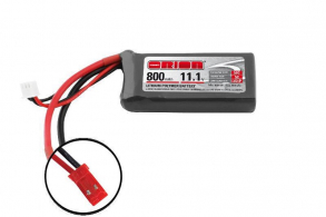 Team Orion Batteries Li-Po 11,1В(3S) 800mah 50C SoftCase JST plug