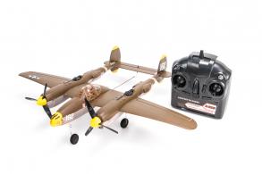 EasySky P-38 Lightning 4Ch RTF 3G