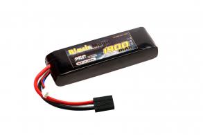 Black Magic LiPo 7,4В(2S) 1900mAh 25C Soft Case Tamiya plug (for LaTrax Rally